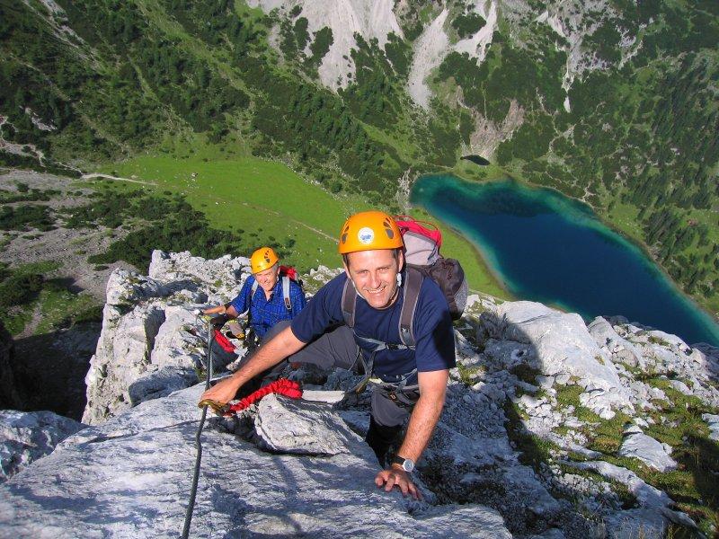 Klettersteig Ehrwald : Kostenloses saac klettersteig camp tiroler zugspitz arena vom